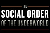 The social order of the underworld